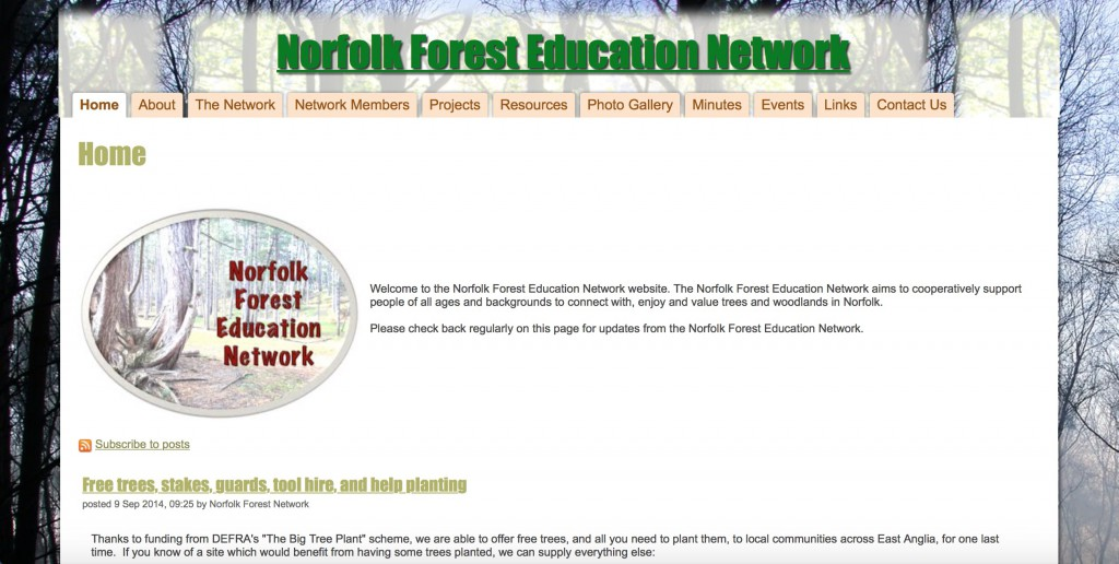 Norfolk Forest Education