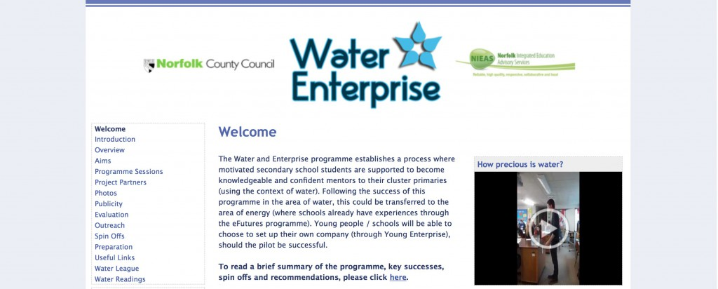Water and Enterprise